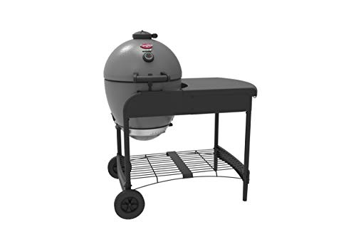 Char-Griller E6520 AKORN Kamado Cart Charcoal Grill, 22