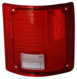 TYC 11-1282-02 Chevrolet/GMC Passenger Side Replacement Tail Light Assembly