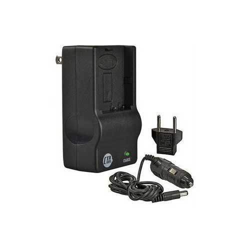 CTA MR-LI50B Mini Battery Charger Kit for Olympus LI-50B Battery ()