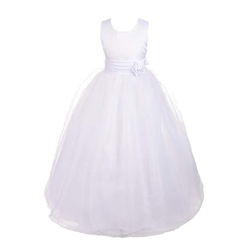 Dressy Daisy Girls' Empire Waist Wedding Flower Girl Dresses Pageant Party Dress Size 18-24 Months -