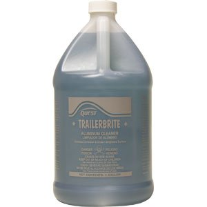 Quest Chemical 636415 TrailerBrite Aluminum Brightener,1 Gal, 4/Cs. by Quest