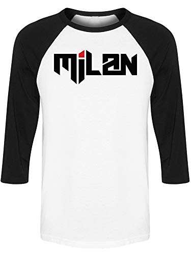 Milan City Raglan Men's -Image by Shutterstock from Teeblox