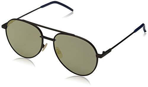 - Fendi Sunglasses 0222/S 009Q With gray bronze mirror lens