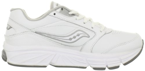 Walking Silver Saucony Echelon Shoe Women's White LE2 ytYYrqfw8