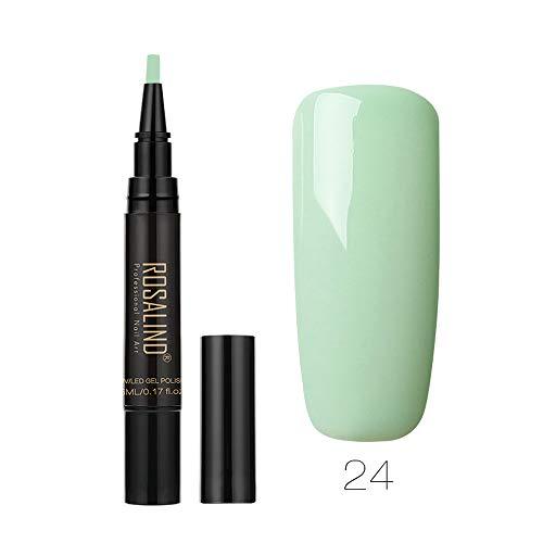 (Nail Art KpopBaby Color Gel Nail Polish Nail Art Nail Gel Polish UV LED Gel Polish Nail Polish Pen)