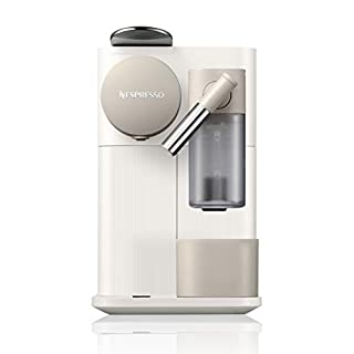 Nespresso by De'Longhi Lattissima One Original Espresso Machine with Milk Frotherby De'Longhi, 33.8 Ounce, Silky White