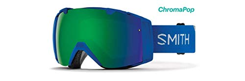 Smith Optics I/O Adult Snow Goggles - Imperial Blue/Chromapop Sun Green Mirror