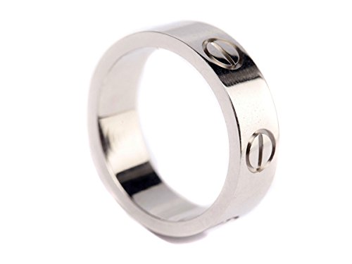 Fire Ants Love Ring-Silve Lifetime Just Love You With(Size:5-10)