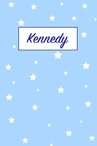 - Kennedy: First Name Personalized Notebook. College Ruled Journal. Pastel Pink Writing Diary with Stars Pattern for Girls and Women