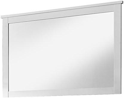 Trendteam Muebles Espejo de pared, Madera, Bianco, 91 X 62 X 3 Cm ...