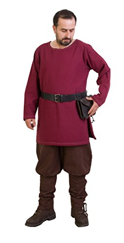 Thor Medieval Tunic by CALVINA Costumes -Unisex - Made in Turkey, (Norman Knight Costume)