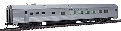 Walthers-85' Budd Diner - Ready to Run -- New York Central (silver) - HO