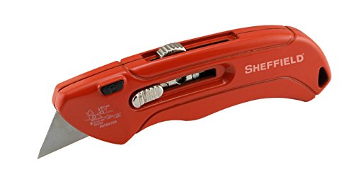 Sheffield 60085 Aluminum Retractable Utility Knife (Sheffield Aluminum Knife)