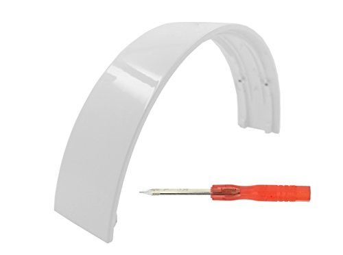 Replacement Repair Parts Headband for Beats By Dr Dre Wireless Headphones(Not For Studio Wireless) - White