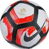 Nike Ordem Ciento Copa America Official Match Soccer Ball (White, Red, Black)