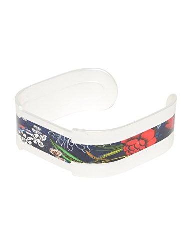 Desigual - Bracelet manchette - Plaqué argent - Global Traveller - 17 cm - 72G9EG85016U
