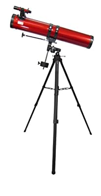 Carson Red Planet 45-100x114mm Newtonian Reflector Telescope (RP-300)