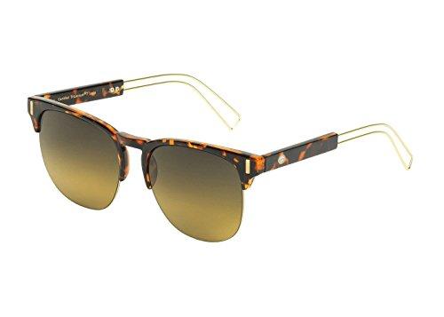 Eagle Eyes ELEKTRA Womens Sunglasses - Semi-rimless Blonde Tortoise Frames (Collection Sunglasses Bikers Fastrack)
