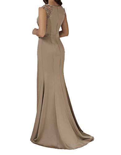 Royal Abendkleider Blau Lila Charmant Promkleider Ballkleider Damen Brautmutterkleider Sexy Chiffon 5wXqEzrgqx
