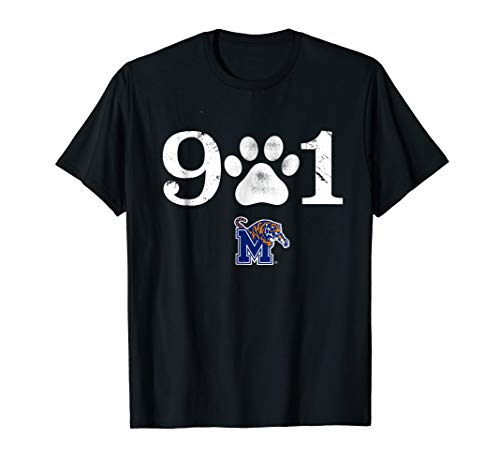 - Memphis Tigers The 901 T-Shirt - Apparel