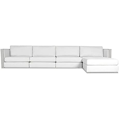 South Cone Home GRNWHCH UL2 WHITE Greenwhich Modular Sectional White
