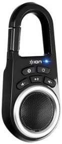 ION Clipster Ultra-Portable Bluetooth Speaker with Built-In Clip Black