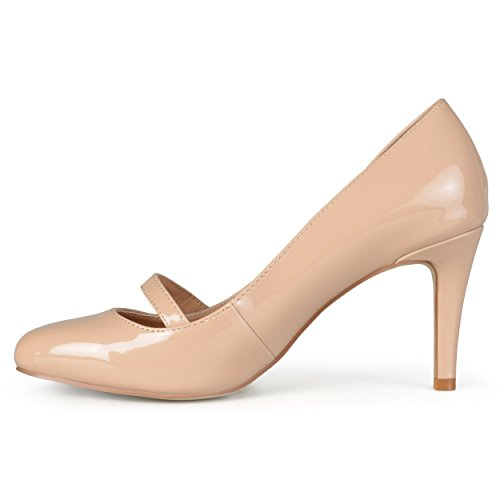 Collezione Journee Womens Classic Mary Jane Pumps Nude
