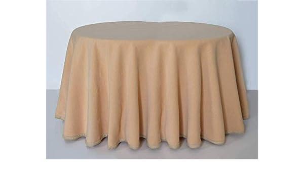 textil mora Falda para Mesa Camilla Ovalada 135 x 90 x 75 de Alto ...