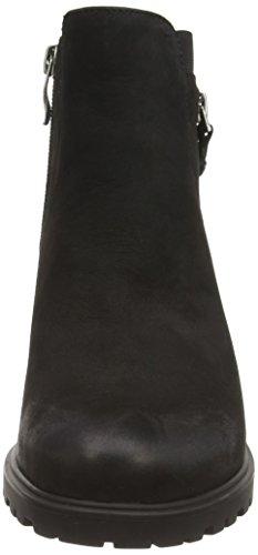 and Lined Shaft Schwarz Black Bootees Schwarz Mantova WoMen Boots Half Boots Cold 71 Biker ara 0ztwOqq