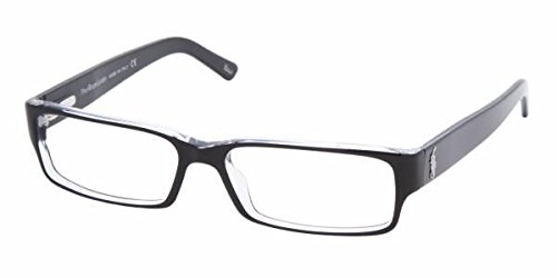 Polo Ralph Lauren PH2039 Eyeglasses Top Black / Crystal 52mm - Frames Eyeglasses Ralph Polo Lauren