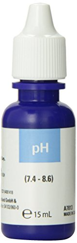 Nutrafin pH High Range Reagent Refill for Aquarium, 15ml ()