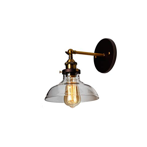 (Chloe Lighting Braxton Industrial 1 Light Oil Rubbed Bronze Wall Sconce 8