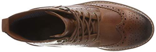 Lord Uomo Clarks Stivali Batcombe dark Leather Tan Chelsea Marrone 5gxvfnq6x