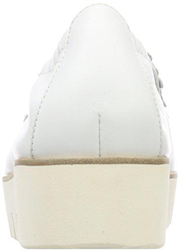 Kennel und Schmenger Pia XXL, Ballerines Plateforme Femme Weiß (Bianco Sohle Weiß)