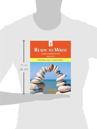 Ready to write 1 a first composition text 3rd edition karen ready to write 1 a first composition text 3rd edition karen blanchard christine root 9780131363304 creative writing composition amazon canada fandeluxe Images