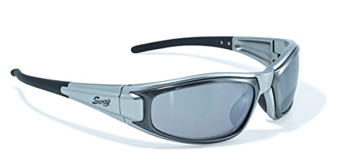 Swag Sunglasses Boardz Series, Flash Mirror Lens, Silver Frames