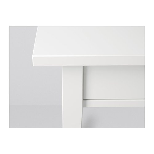 Amazon.com: IKEA HEMNES – Mesita, color blanco (un par ...