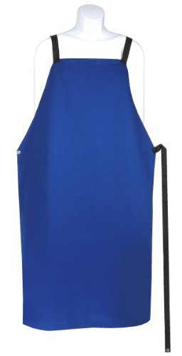 Hot Max 23142 Blue Sateen Flame Retardant Cotton Welder's (Retardant Apron)