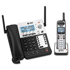 (Sb67138 Dect6 Phone/ans System, 4 Line, 1 Corded/1 Cordless Handset By: AT&T)