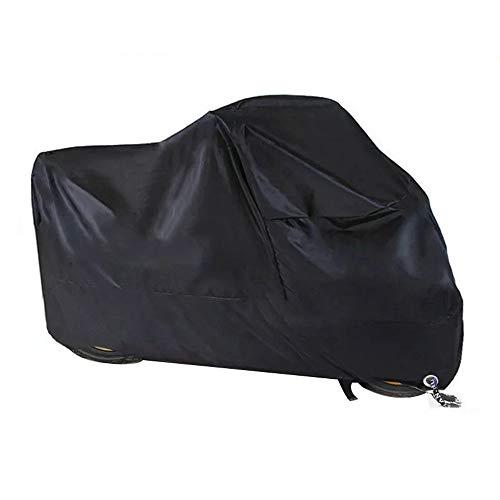 Zender Motorhoes, winterbestendig, waterdicht, 190T motorhoes, afdekzeil voor buiten, met slotgaten, stofdicht…