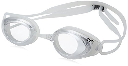 TYR Blackhawk Racing Googles, Smoke/Clear, One Size