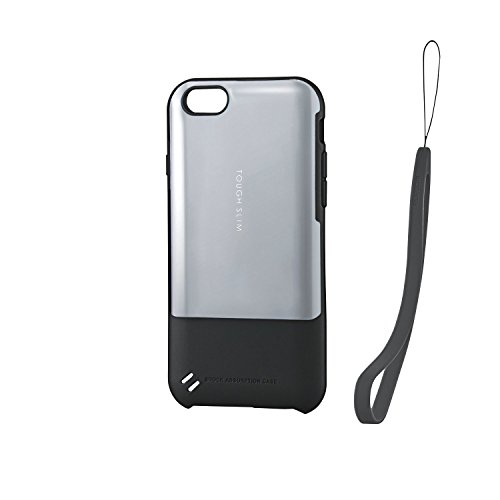 上級上回るトランスペアレントELECOM iPhone6s/6 TOUGHSLIMケース premium ミラー シルバー  PM-A15TSP05