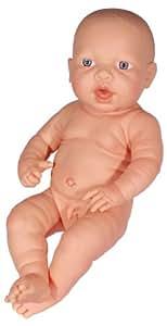 Bayer Design 94200WB - Muñeco recién nacido de 42 cm