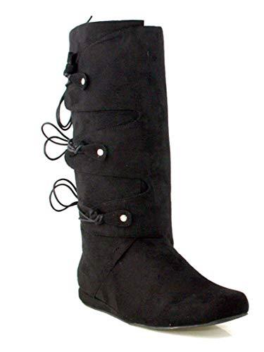 Ellie Shoes Thomas (Black) Adult Mens Boots - L ()