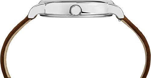 Timex Weekender 2-Piece Leather Strap Watch - Cream
