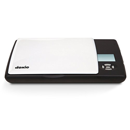 Doxie Flip - Cordless Flatbed Photo & Notebook Scanner w/Removable Lid ()