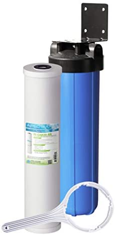 APEC Water Systems CB1-CAB20-BB APEC Whole House Carbon Water Filter with 20 Big Blue Home Filtration System