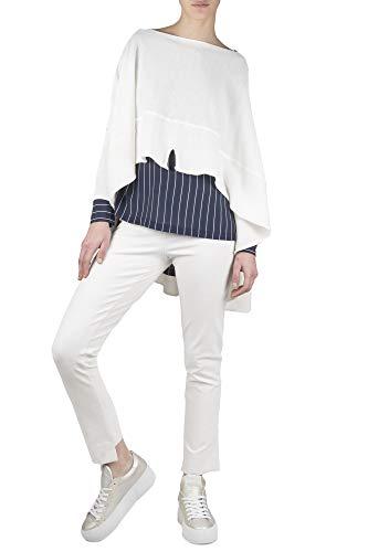Blusa Conti 2019 Couleur F9eu33 Femme estate Chemise l crème Liviana Primavera Bleu M OZqpHfwHx