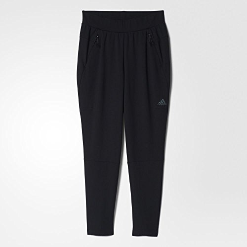 adidas Women's ZNE Tapered Pants, Black, Small