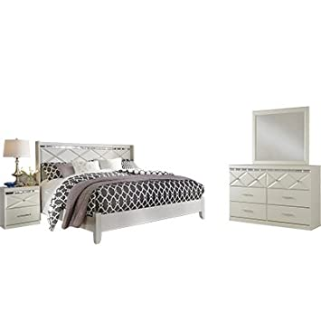 Amazoncom Signature Design By Ashley Dreamur Bedroom Set With